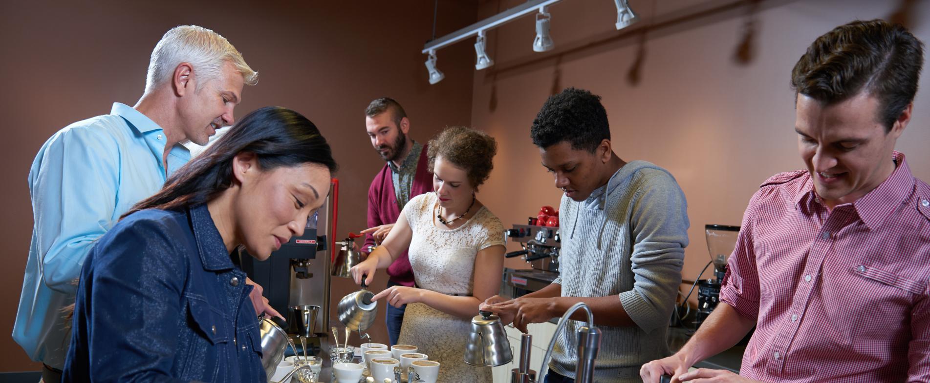 Coffee Tastings at Ferris Coffee