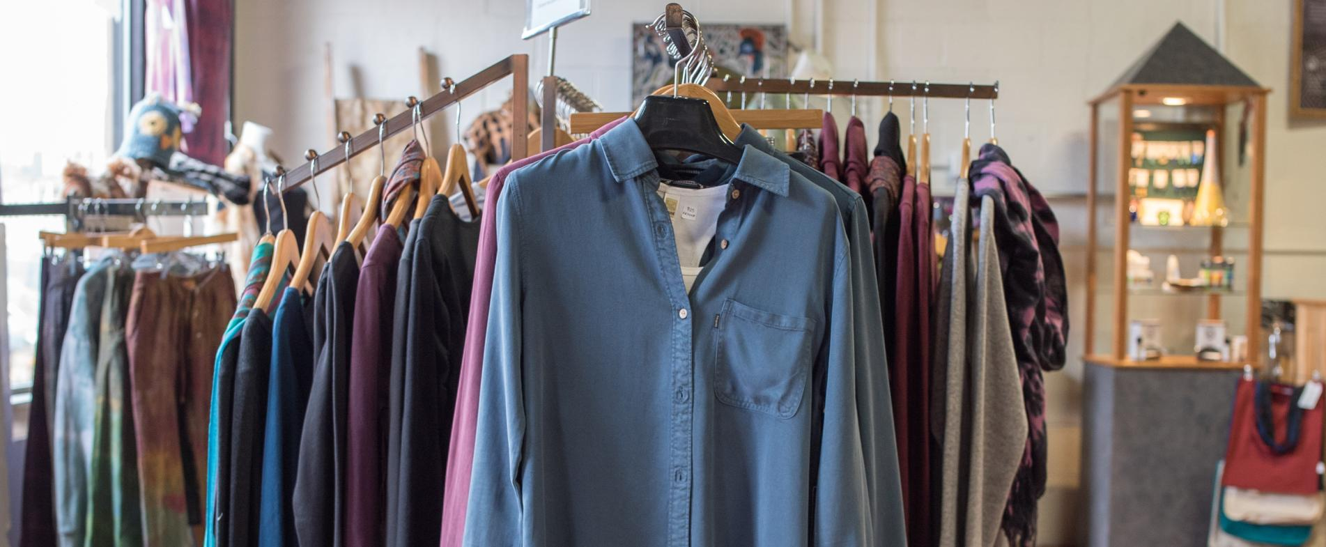 Clothing Matters offers sustainable clothing options online.