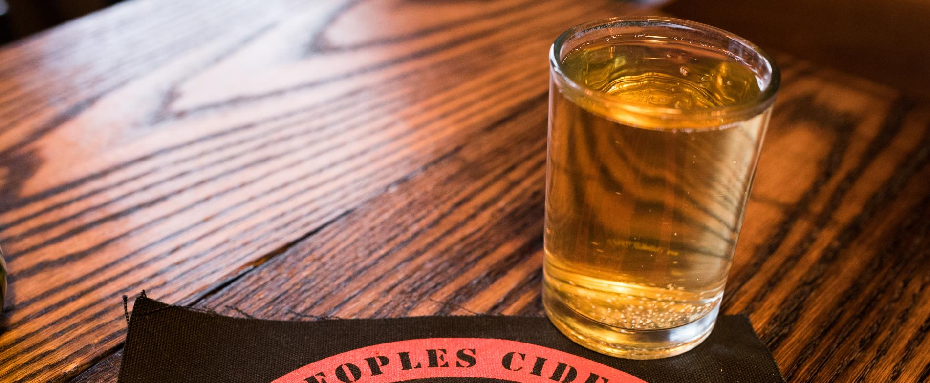 The People's Cider Co. is known for its premium dry ciders, similar to European cider culture which is unique to West Michigan.