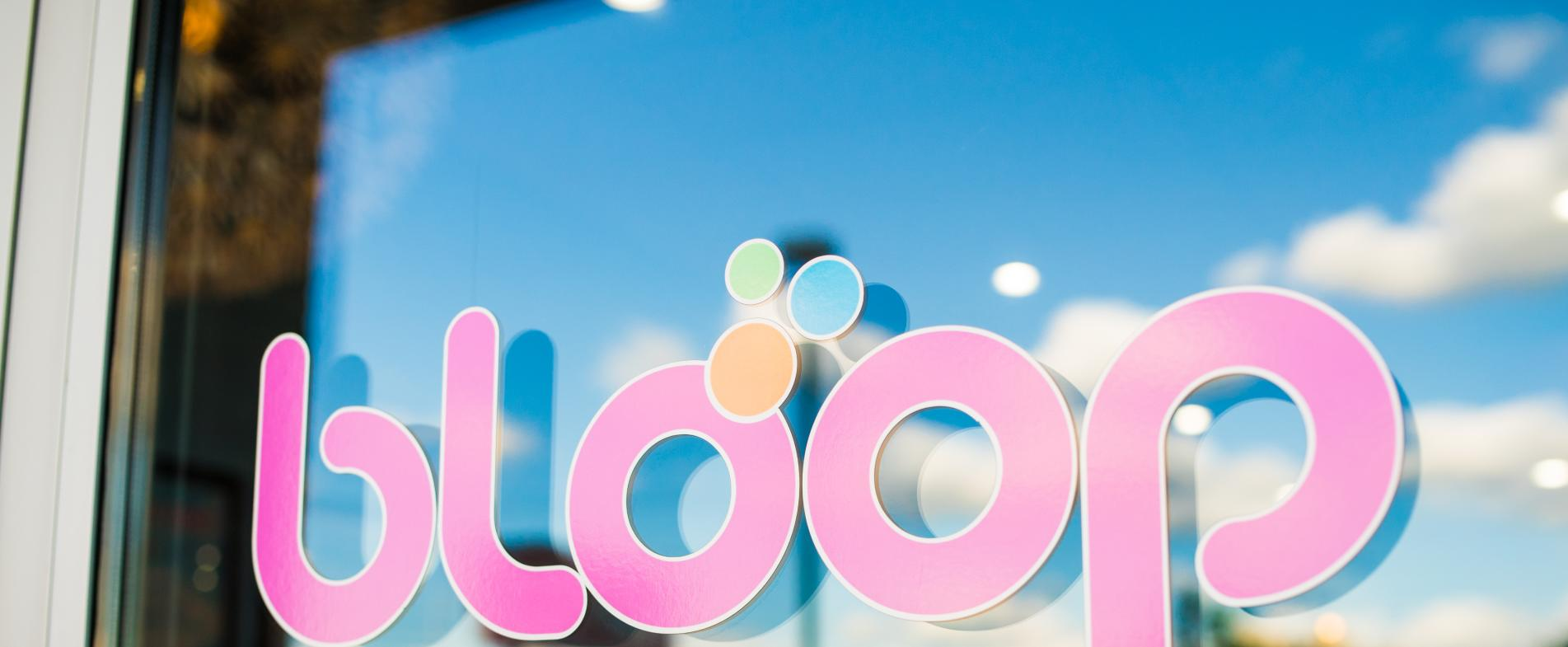 Stay tuned for more information on Bloop Frozen Yogurt delivery services.