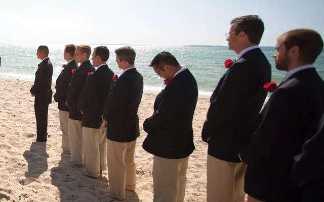 Beach Wedding In Traverse City Michigan