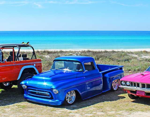 Emerald Coast Cruizin Car Show Events In Panama City Beach - Panama city beach car show 2018