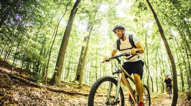 Mountain Biking At Explore Park In Roanoke Va Bike Trails