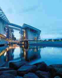 The Astrup Fearnley museum building.