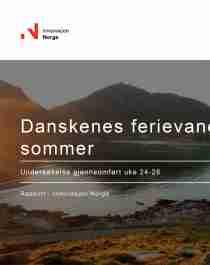Danskenes ferievaner i sommer