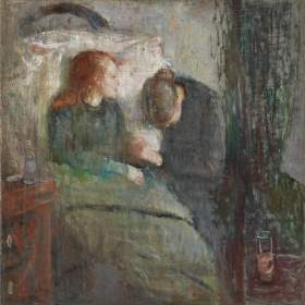 """The sick child"", Edvard Munch (1885–1886)"