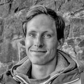 Portrait of professional Norwegian hiker Andreas Orset