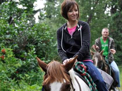 Horseback riding tours in Anchorage