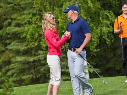 Anchorage Golf Course couples
