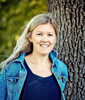 Portrait der Journalistin und Autorin Hanna Norberg, Norwegen