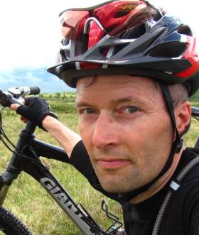 Portrait of cycle expert Øyvind Wold, Norway