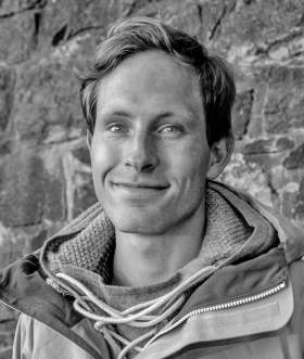 Portrait of professional Norwegian hiker Andreas Orset