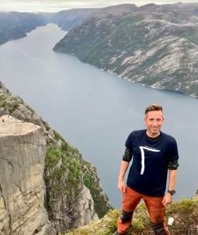 Portrait of Gaute Løvset, Norway