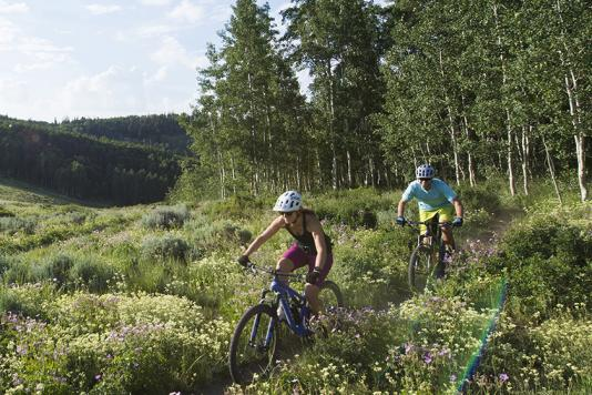 Mountain Biking in Park City, Utah
