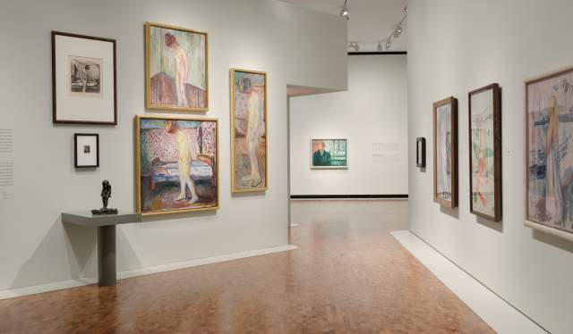 Exhibition at the new MUNCH