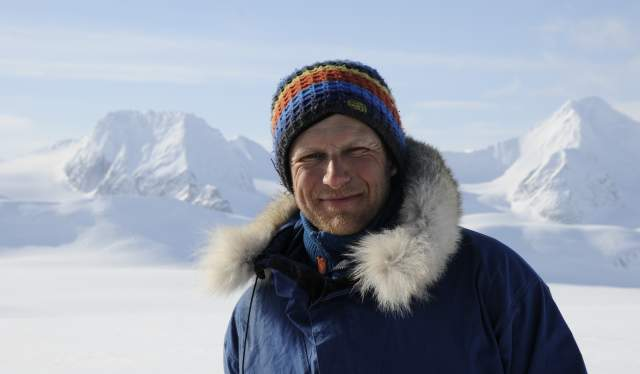 Portrait image of Sigmund Andersen, IFMGA mountain guide and associate professor at UiT The Arctic University of Norway