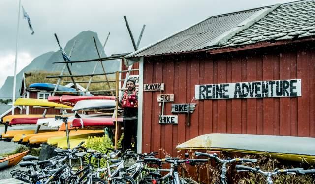 Kajakk og sykkelutleie i Reine, Lofoten
