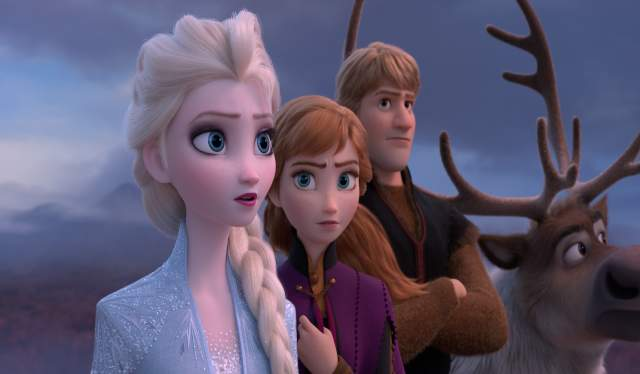 Elsa, Anna, Kristoff and Sven, Frozen 2