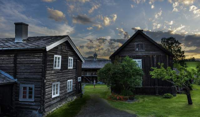 Sygard Grytting farm near Lillehammer, Eastern Norway