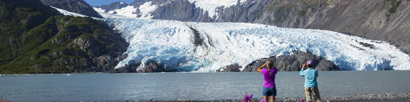 Portage Glacier view for Anchorage hikers