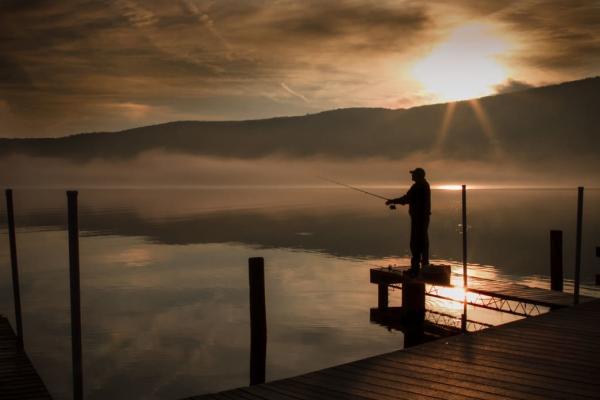 Fishing Finger Lakes