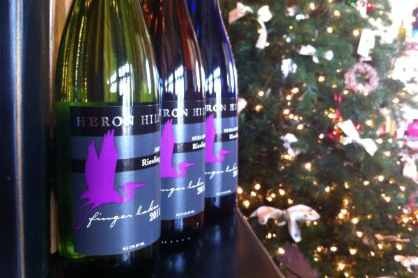 Heron Hill wine