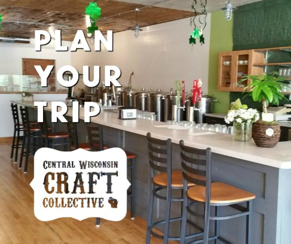 Plan your  trip to the Central Wisconsin Craft Collective with a stop at McZ's Brew Pub