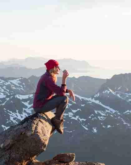 Outdoor activities in Norway: Hiking in Lofoten