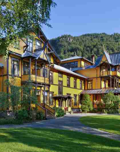 Green hotels: The historic Dalen Hotel in Telemark, Eastern Norway