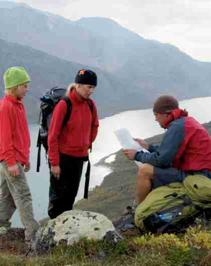 Mountain safety in Norway: Alway bring a map and a compass