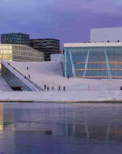 Bjørvika og operahuset i Oslo