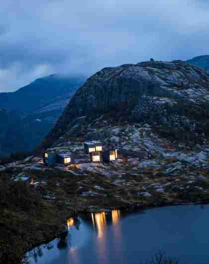 Skåpet fjellhytte, en av Norges råflotte designerhytter