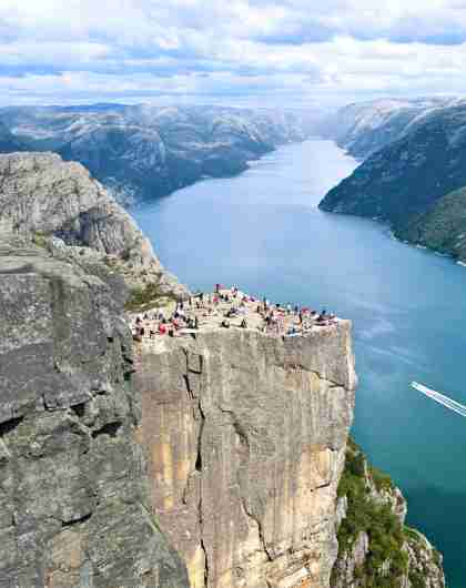 Plan your trip to Stavanger: Lysefjorden and The Pulpit Rock in Ryfylke, Fjord Norway