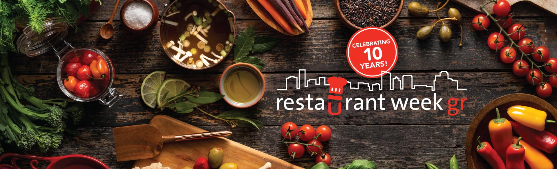 2019 Restaurant Week GR header