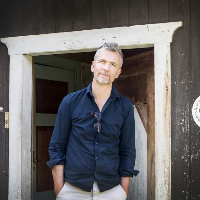 Erik Langdalen at Budsjord pilgrim farm