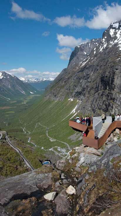Andalsnes Trollstigen Romsdalseggen Og Rampestreken