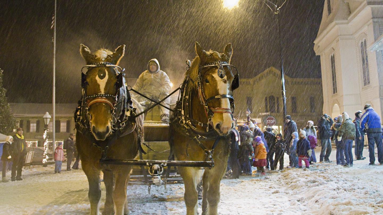 Christmas in the Park in Hammondsport