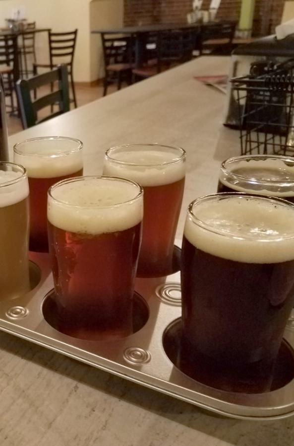 Find your favorite flavor with McZ's Brew Pubs beer flights.