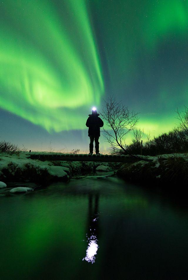 Aurora borealis in Varanger