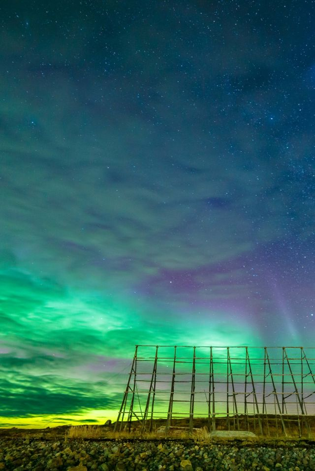 Varanger northern lights