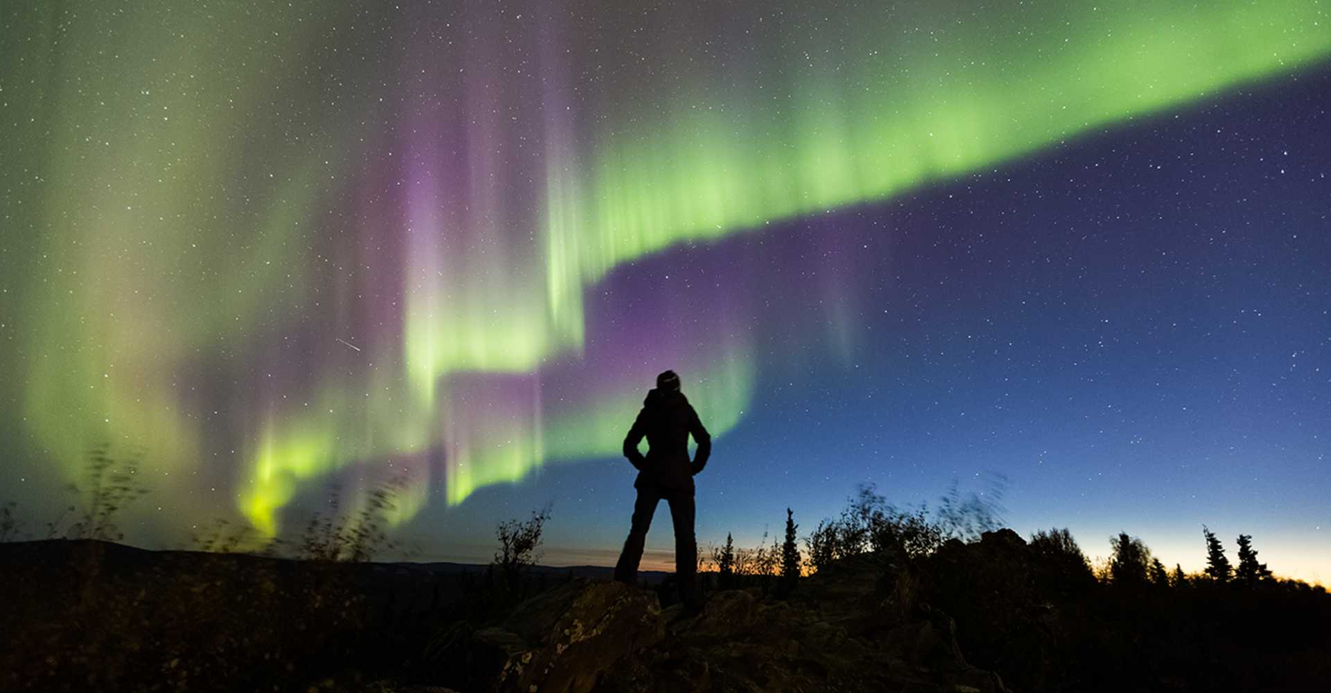 aurora borealis season explore fairbanks alaska