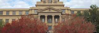University front area