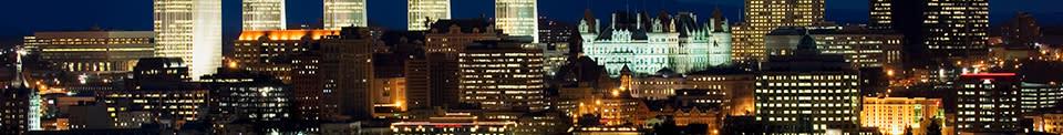 Albany Skyline - Photo by NYS ESD