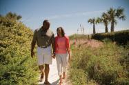 Couple Beach Access Wrightsville Beach