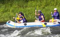 Rafting on the Upper Delaware river 776