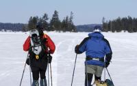 X-skiing/winter camping-Raquette Lake