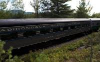 Adirondack Scenic Railroad - Off Ray Brook Road