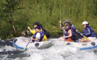 Rafting on the Upper Delaware river