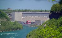 Damat Power Authority in Niagara Falls from Whirlpool State Park