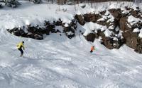 Skiing at Hunter Mountain 1126